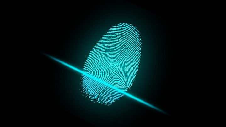 Graphic of a finger print